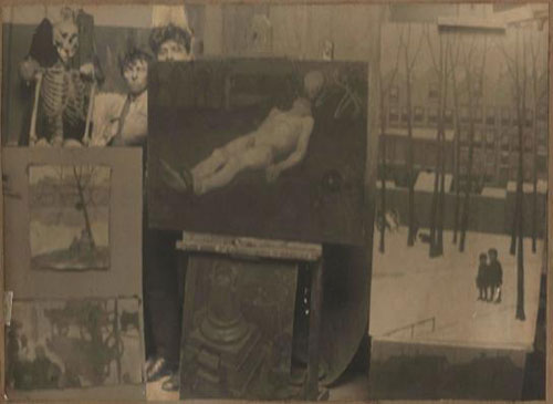 vrouwen waterlooplein 1920